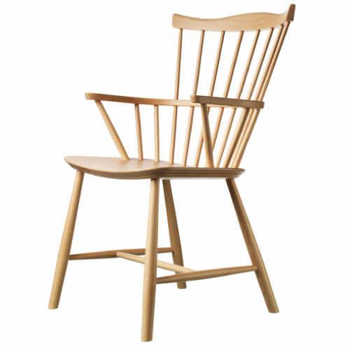 Børge Mogensen spisebordsstol i lakeret bøg