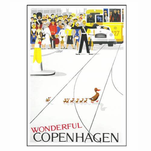 Dansk Nostalgi plakat til stuen 70x105