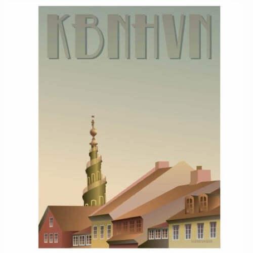 Plakat til stuen fra Vissevasse