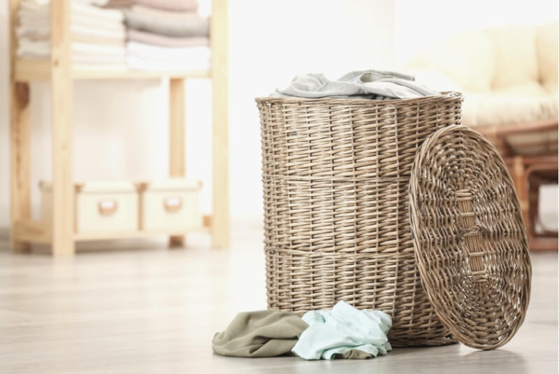 Efterstræbte Vasketøjskurv: De bedste vasketøjskurve i træ, flet og plast YZ-54