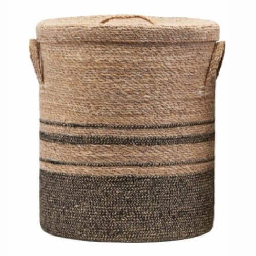 Vasketøjskurve 2 stk. i lyst naturtræ fra House Doctor