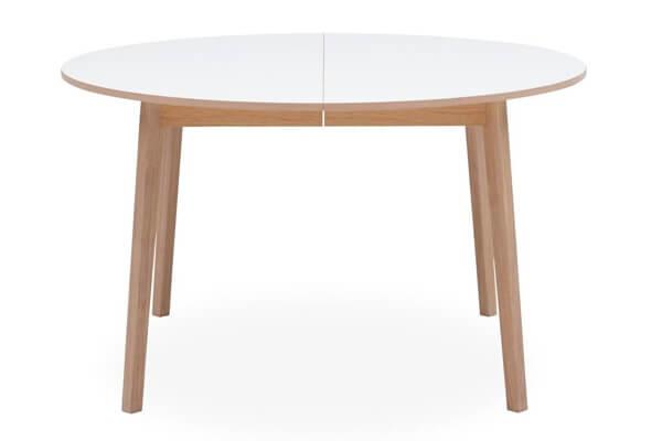 Besalu rundt spisebord til skandinavisk indretningsstil