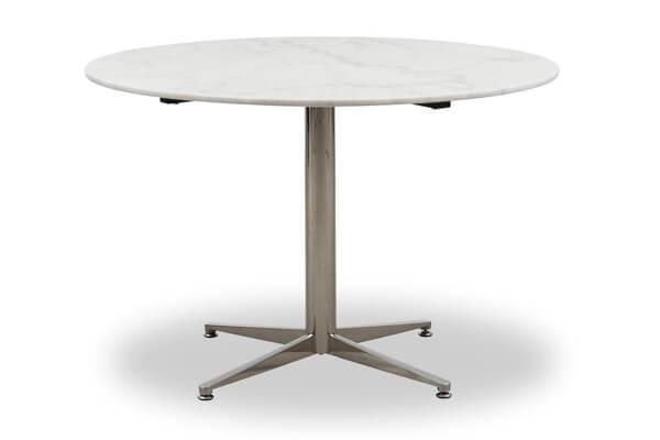 Coluna spisebord i marmor og rustikt design