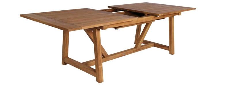 Sika design George luksus spisebord i patina og rustikt look