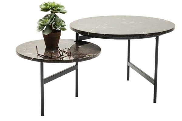 KARE design monocle marmor sofabord