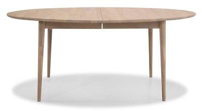 Futura spisebord med udtræk i massiv egetræ