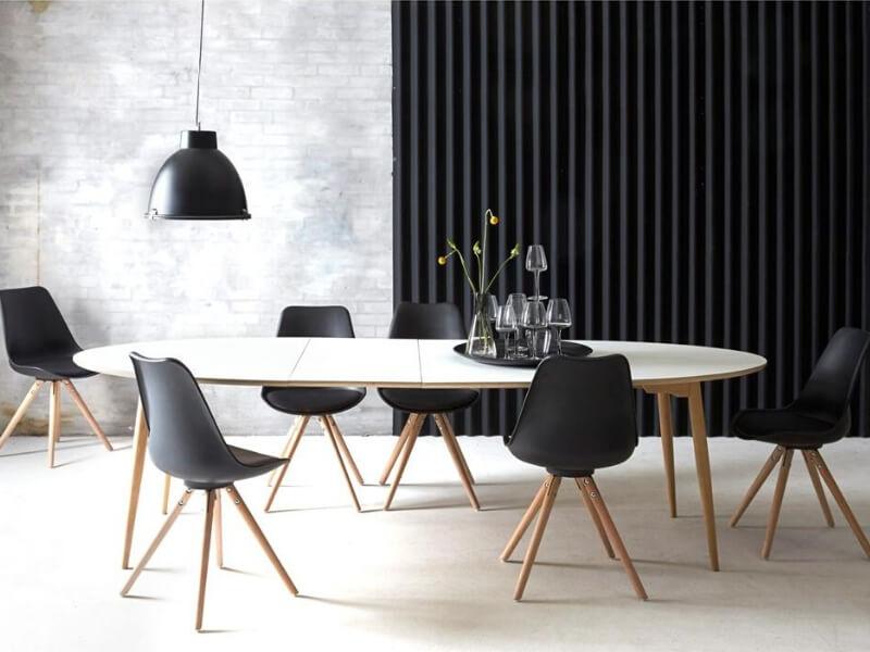 Rundt spisebord: 29 flotte runde spiseborde
