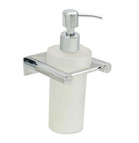 Adora sæbedispenser - Klassisk dispenser i krom til vægmontering