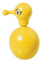 Alessi Mr Cold sæbedispenser i gul farve