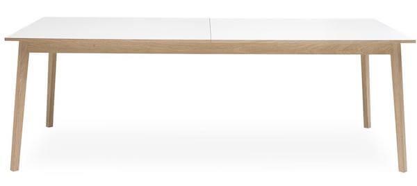 Avion Spisebord - Stilrent skandinavisk bord med smart butterfly udtræk
