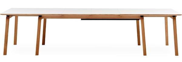 Big langbord - Laminat bord med plads til hele familien og venner