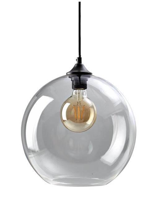 Como pendel - Et de flotteste pendel lamper til stuen med røgfarvet glas