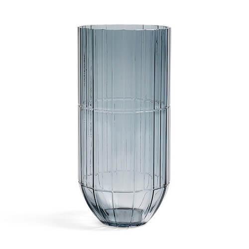 HAY Colour Vase XL i klar blå glas