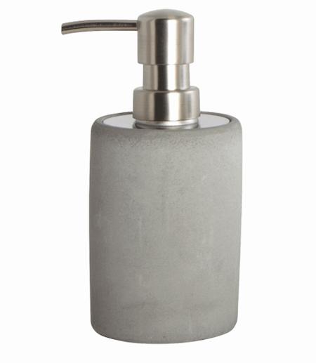 House Doctor - Flot sæbepumpe i rustfrit stål og cement