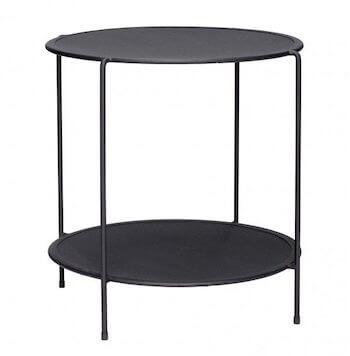Hübsch Rundt bord i metal