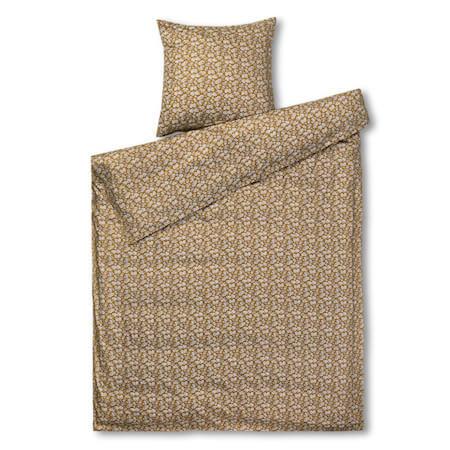 Juna Bæk & Bølge sengetøj - Lækker sennepsgul sengesæt i god kvalitet