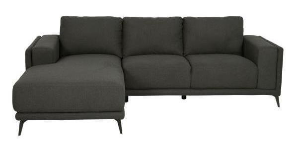 Lissabon sofa - Mørkegrå hverdags sofa til en pris hvor alle kan være med