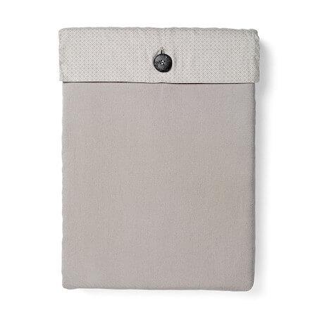 Menu GoodNorm cool grey - Sengetøj af bomuldssatin i douce og grålige toner