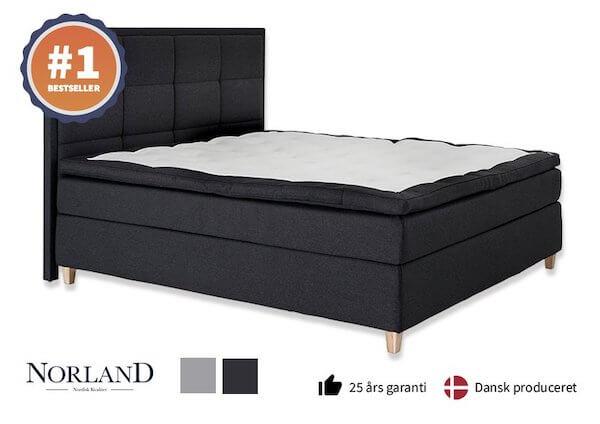 Norland Eksklusiv Komfort - Bestseller kontinentalseng 180x200 med 3 komfort lag