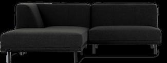 Paris chaiselongsofa i 3 moduler udført 100% polyester