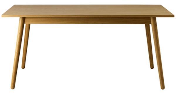 Poul M. Volther C35B - Flot og minimalistisk langbord med mulighed for tillægsplader