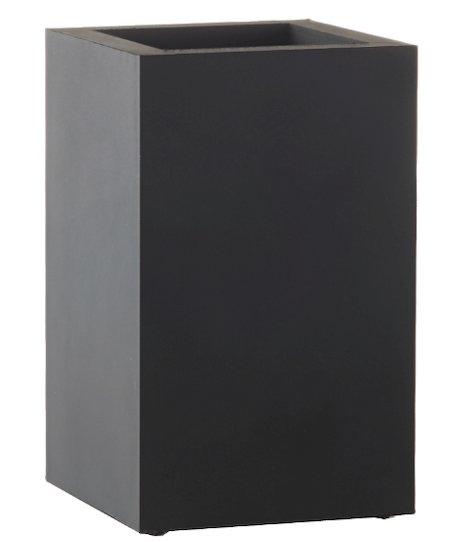 SEJ Design Multi Rektangulær - Funktionel sort vase til alle boligens rum