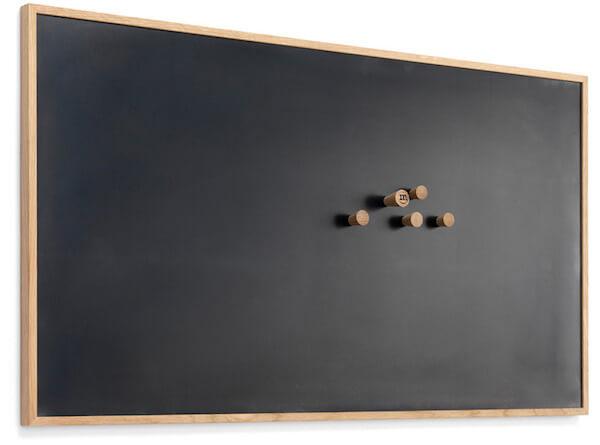 The Oak Men opslagstavle til billeder og ramme med magnetisk plade