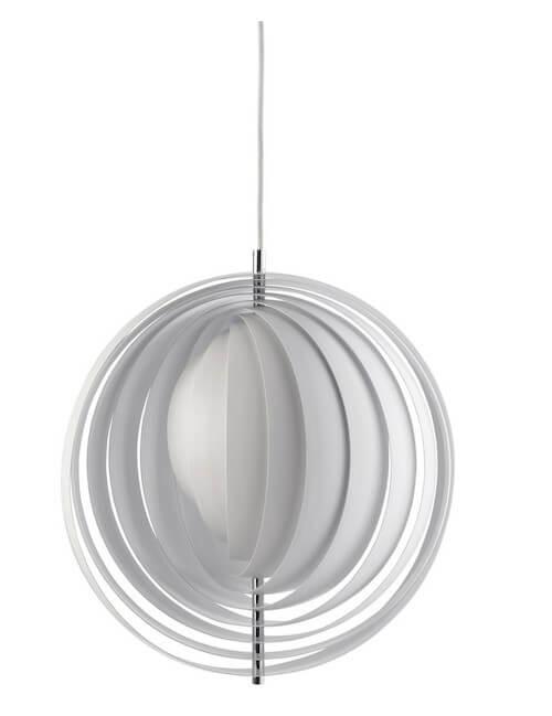 Verner Panton Moon Pendel - Dansk designet lampe fra 1960erne