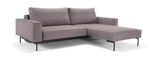 Bragi fleksibel sofa i stilrent design og god kvalitet med slå ud system