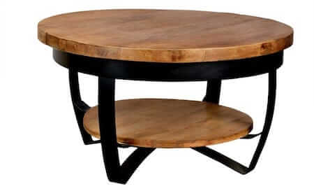 IronWood sofabord Ranger II massivt bord i mangotræ og flot finish