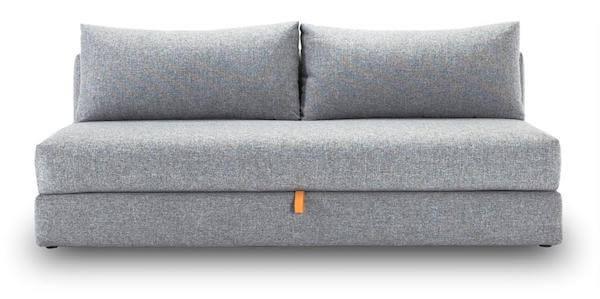Osvald Twist granite bedste 2 personers sovesofa med opbevaring under madrassen
