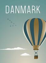 Rikke Axelsen plakater til stuen med blå luftballon