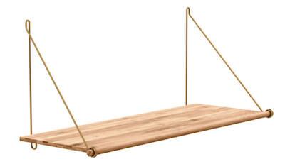 We do wood hylde loop self hyldesystem med metalophæng