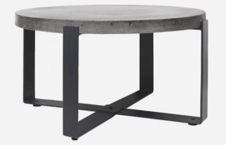 Cozy Living Concrete voksbehandlet bord på 100 cm