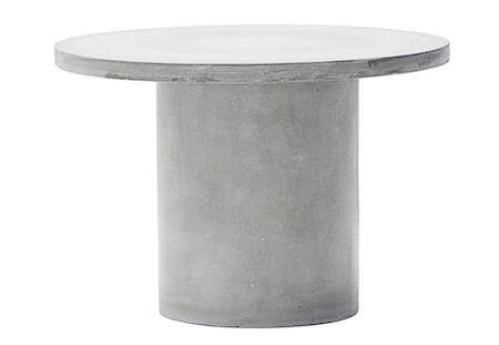 House Doctor gallery rundt beton sofabord 45 x 65 cm i diameter