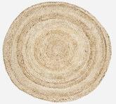 House Doctor tæppe fremstillet i flettet hamp