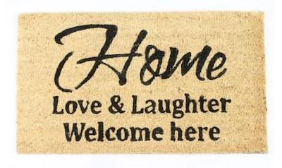 """LaFinesse """"Home"""" mest kendte dørmåtter med tekst"""
