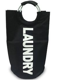 Nordiq Landry vasketøjskurv udført i sort stof
