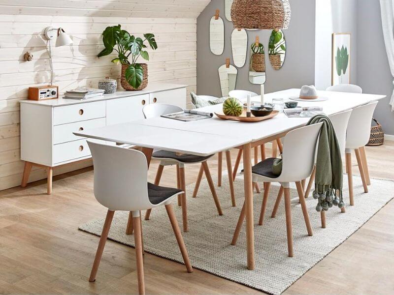 Spisebord med udtræk: 26 moderne borde til boligen