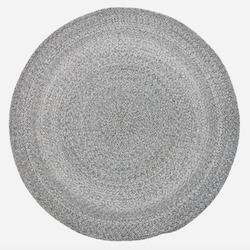 Bloomingville grå polyester tæppe i dansk design