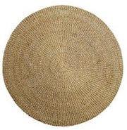 Bloomingville søgræs rundt natur tæppe i god kvalitet