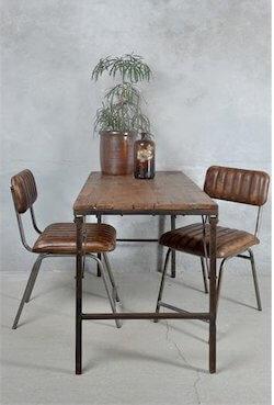 Jeanne D´Arc living foldbart spisebord i træ-jern