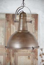 Jeanne d'Arc metal hængelampe i rustik design