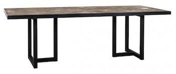 Richmond Spisebord med sildebensmønster i industrielt look Richmond Spisebord med sildebensmønster i industrielt look