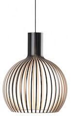 Secto Design Octo 4241 Mini pendel lampe i sort