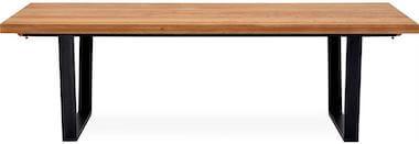 Calla massivt vildt egetræ langbord 240 x 95 x 74 cm