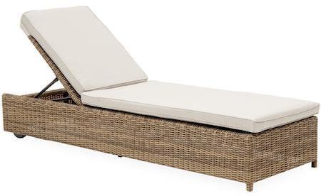 Calvi lounge solvogn i kraftig polyrattan inkl. lækker hynde