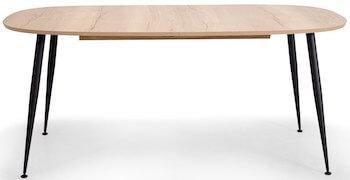 Casa flot spisebord i vild edge look ekskl. tillægsplader