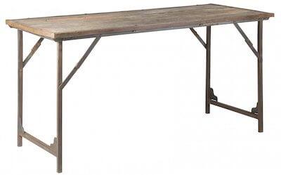 IB Laursen Unika spisebord i rustikt design og flotte detaljer