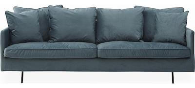 Julia luksus 3 personers sofa med mange fine detaljer